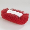 "Carlisle Sparta® Spectrum® Red Jumbo Tank Brush - 6"" x 10-1/2"""