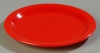 Carlisle Dallas Ware® Red Dinner Plate - 10-1/4""
