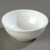 Carlisle Dallas Ware® White Nappie Bowl - Cash & Carry - 13 Oz., 5-1/4""