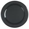 "Carlisle 19"" Designer Displayware™ WR Round Platter - Black"