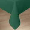 Carlisle Forest Green Softweave Plain Tablecloth - 90""