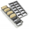 Carlisle Steeluminum® 6 Loaf Mini Loaf Pan - 17.5 Oz.