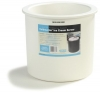 Carlisle Coldmaster® Ice Cream Server & Lid - 3 Gal., White