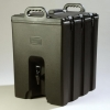 Carlisle Beverage Server - 205 Gal., Black