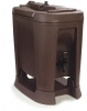 Carlisle Brown Beverage Dispenser - 3 Gal.
