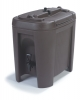 Carlisle Black Beverage Dispenser - 3 Gal.