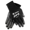MCR Safety Ninja X Bi-Polymer Coated Gloves - X-Large, Black, Pair