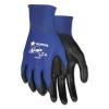 MCR Safety Ultra Tech® Tactile Dexterity Work Gloves - Blue/Black, Large, 1 Dozen