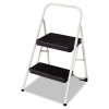 Cosco® Two-Step Folding Step Stool - 200 lbs, Cool Gray