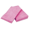 PRO Tuff-Job™ Durable Foodservice Towels - Pink/White, 200/Carton
