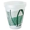 DART Impulse® Hot/Cold Foam Drinking Cups - 12-oz., Green/Gray, 25/Bag, 40/Ctn