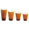 DART Fusion™ Escape Design Printed Foam Cups - 24-OZ.