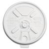 DART Lift n' Lock Plastic Hot Cup Lids - 12-24 oz Cups, Translucent, 1000/Ctn