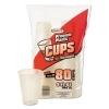 DART Translucent Plastic Cold Cups - 9 Oz, Translucent, 80/Bag, 12 Bags/Ctn