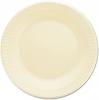 """DART Quiet Classic® Laminated Foam Dinnerware - Plate, 9"""" Dia, Honey, 500/Ctn"""