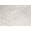 """DART StayLock® Clear Hinged Lid Containers - 4.5"""" ,Clear, 250/Ctn"""