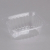 DART StayLock® Clear Hinged Lid Containers - 32 OZ, Clear, 504/Ctn