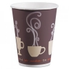 DART Thermoguard Insulated Paper Hot Cups - 12 Oz, Steam Print, 600/Ctn