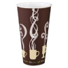 DART Thermoguard Insulated Paper Hot Cups - 20 Oz, Steam Print, 600/Ctn