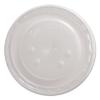 DART Polystyrene Plastic Flat Straw-Slot Cold Cup Lids - F/32, 44 Oz Cups, Translucent, 80/PK, 12 Pk/Ctn