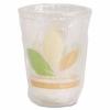 DART Bare® Eco-Forward® RPET Cold Cups - Leaf Design, 10 Oz, 500/Ctn