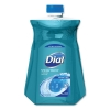DIAL Antimicrobial Liquid H& Soap - Spring Water, 52 Oz, 3/Carton