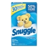 DIVERSEY Snuggle® Fabric Softener Sheets - Fresh Scent, 120 Sheets/BX, 6 BX/Ctn