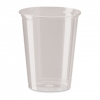 RUBBERMAID 10 OZ. Clear Plastic PETE Cups - 500/CS