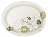 "DIXIE Ultra® Pathways® Heavyweight Oval Platters - 8 .5""W X 11""L X 5.5"" Dia"