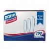 DIXIE Heavy Weight Polystyrene Knife - White