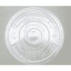 ECO Renewable Resource Compostable Lids - 1,000 per case.