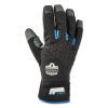 Proflex® 817 Reinforced Thermal Utility Gloves - Black, Small, 1 Pair