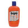 GOJO Natural ORANGE™ Pumice H& Cleaner - 14 Oz Bottle, 12/Carton