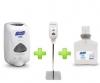 GOJO Sanitizer Station (1 Gray Stand + 1 Touch free Dispenser + 1 Gel Refill) - Gojo Purell