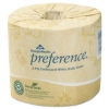 GEORGIA-PACIFIC Preference® Mega-Ply Embossed Bath Tissues - Two Ply/ White