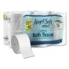 GEORGIA-PACIFIC Professional Angel Soft ps® Compact Coreless Bath Tissue - 2-Ply, WE, 750 Sheets/RL, 12 RL/CT