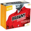 """GEORGIA-PACIFIC Brawny Industrial® Disposable Cleaning Towel - 13"""" X 15"""", White, 300 Wipes/BX"""