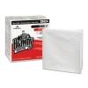 GEORGIA-PACIFIC Professional Brawny Industrial® Heavy Duty Shop Towels - 1/4-Fold, White, 70/PK 12 Pk/Ctn