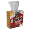 "Professional Brawny Industrial® Heavy Duty Shop Towels - 9 1/8"" x 16 1/2"", White"