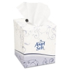 GEORGIA-PACIFIC Professional Angel Soft ps® Premium White Facial Tissue - White, Cube Box, 96 Sheets/BX