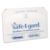 GEORGIA-PACIFIC Professional Safe-T-Gard™ Half-Fold Toilet Seat Covers - White, 250/PK, 20 BX/Carton