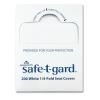 "GEORGIA-PACIFIC Professional Seat Covers Safe-T-Gard - 17"" X 14.5"" White, 25/Carton"