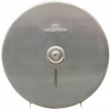 """GEORGIA-PACIFIC Stainless Steel Jumbo Roll Tissue Dispenser - 10 3/4"""" Diameter, 4.44""""D"""