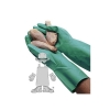Safety Zone Green Nitrile Gloves - 2X Extra Large Size, BX