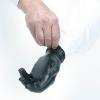 Safety Zone Powder Free Nitrile Black Gloves - Extra Large Size, CS