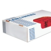 HERITAGE Healthcare Biohazard Printed Can Liners - 20-30 Gal, Red