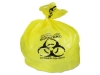HERITAGE Healthcare Biohazard Printed Can Liners - 20-30GL Yellow