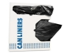 HERITAGE AccuFit® Can Liners - 16 Gal, 1 Mil, Black