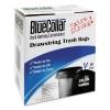HERITAGE BlueCollar Drawstring Trash Bags - Black,20-30 Gal, 1mil