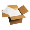 "HOFFMASTER White Flat Pack Napkins - 16"" x 16"""